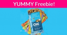 Yummy! Run and Grab this FREE Granola Bar!