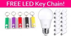 FREE LED Keychain and Light Bulbs!