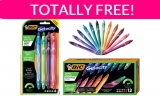 STOP EVERYTHING! FREE BIC Gel Pens ! { $16.00 Value! }