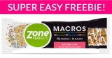 FREE Zone Perfect Bars! EASY!