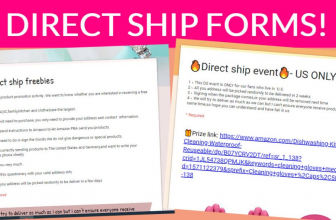 TWO NEW Direct Ship Forms!