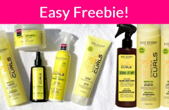 FREE Sample By Mail of Strictly Curls collection !