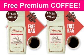 FREE Premium COFFEE! HURRY! ☕☕☕