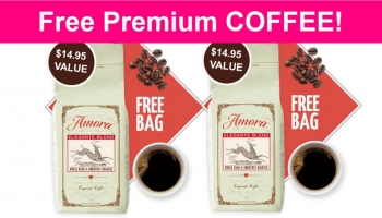 FREE Premium COFFEE! HURRY! ☕☕☕