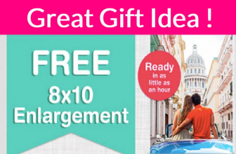 Totally FREE 8×10 Photo Print at Walgreens!