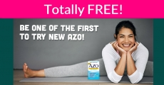 FREE Sample By Mail of new AZO!
