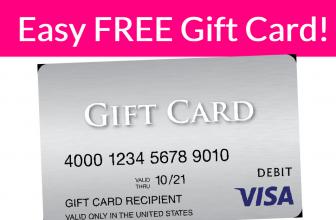 FREE $50 Visa eGift Card ! !