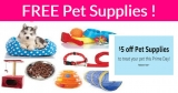 TOTALLY Free Pet Supplies! OMG!