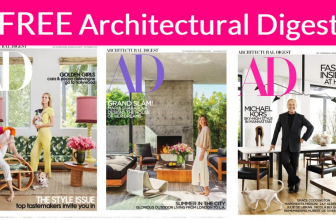 Totally FREE Architectural Digest Magazine!