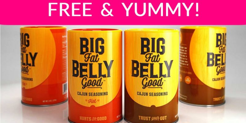 TOTALLY Free Seasoning ! Fat – Belly – Good !