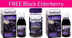 Possible FREE Sambucol Black Elderberry Products!