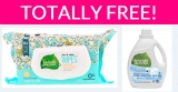 TOTALLY Free 7th Generation Laundry Soap AND Baby wipes!