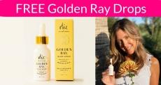 FREE Golden Ray Drops ! Beauty Freebie!