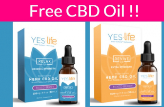 Totally FREE CBD Oil By Mail!