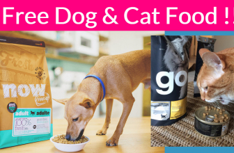 Free Sample By Mail of Cat or Dog Food !