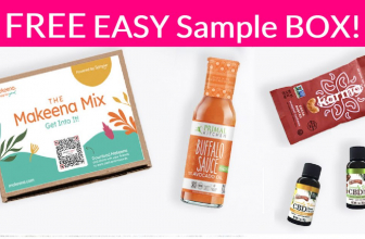 Whoa! NEW Free Sample BOX !