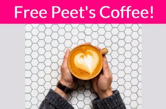 FREE Peet's Coffee! Super Easy!