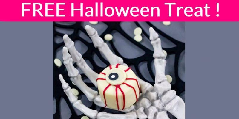 Easy FREE Halloween Treat!