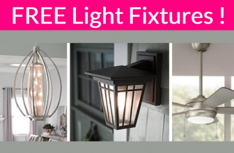 Possible Totally FREE Beautiful Light Fixtures!