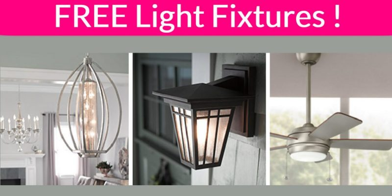 Totally FREE Beautiful Light Fixtures!