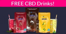 FREE by mail! CBD Infused Drink Mix Sample Pack
