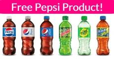 Super Easy! Free Pepsi or Coke Product!