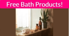WHOA! TONS of Free Bath Products! Easy!