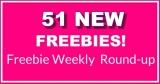 51 NEW FREEBIES THIS Week – HUGE FREEBIE Roundup List!