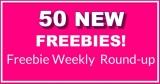 50 NEW FREEBIES THIS Week – HUGE FREEBIE Roundup List! { 9. 22. 2019 }