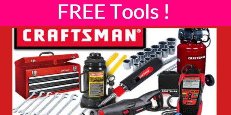 Possible Free CRAFTSMAN Tools By Mail !