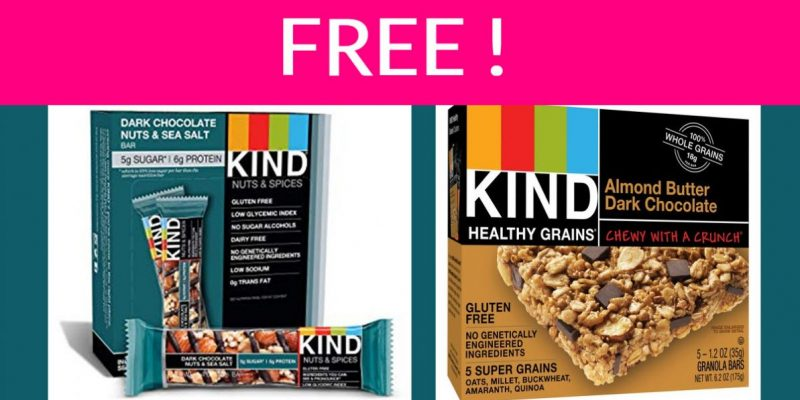 Free Kind Snack Bar By Mail – Super Easy!