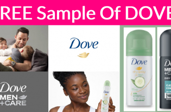 Free Sample By Mail Of Dove!