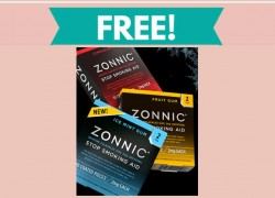 Free Sample of Zonnic Stop Smoking Aid
