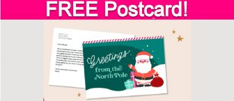 Free Postcard from Santa!