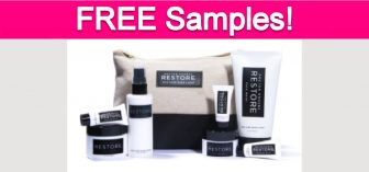 Free Doctor Rogers RESTORE Skincare Samples!