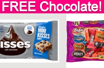 Possible Free HERSHEY'S Chocolate Samples!