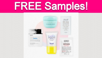 Totally Free Skincare Sample Set!