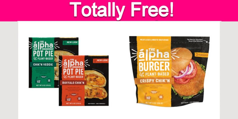 Free Alpha Foods Products!