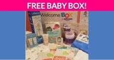Free Amazon Welcome Baby Box!