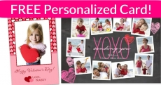 LAST DAY! FREE Valentines Day Greeting Card!