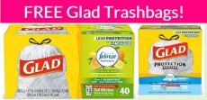 FREE Glad Trash Bags!