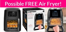 Possible FREE Air Fryer!