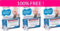 Free Sample By Mail of CarpalAID!
