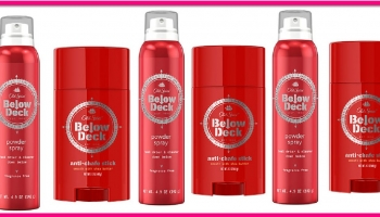 Totally FREE OLD SPICE BELOW DECK = EASY!