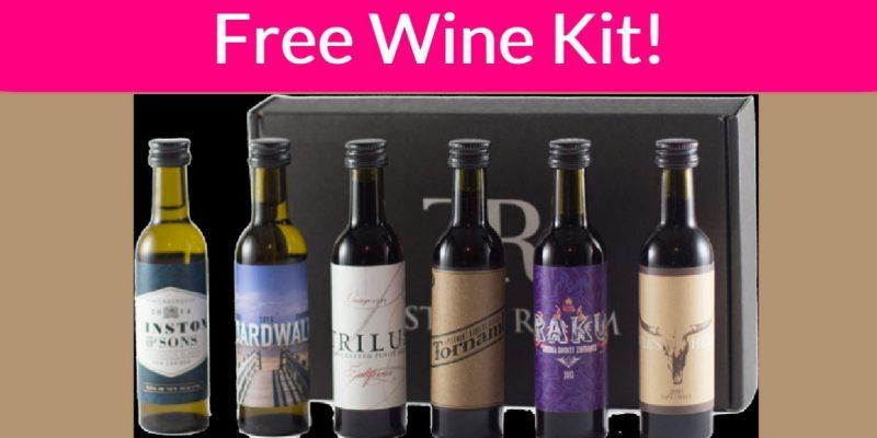 FREE Wine Tasting Kit!