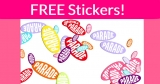 EASY & FREE Parade Sticker by mail!