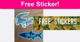 TOTALLY FREE Marsh Wear Stickers !