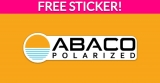 Free Abaco Surf Sticker!