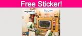 Free Imagination Liberation Sticker!