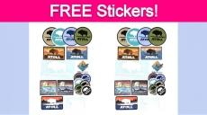 Free Atoll Board Company Sticker Pack!